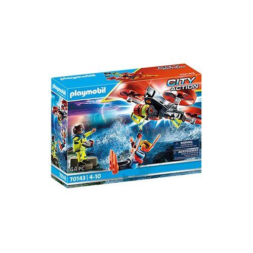 Playmobil City Action - Redding op zee: reddingsduiker met reddingsdrone 70143