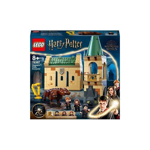 Lego Harry Potter Zweinstein: Pluizige ontmoeting