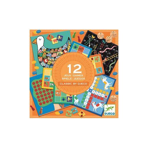 Djeco Spellendoos 12 Klassieke Spellen