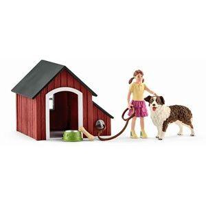 Schleich Boerderij - Hondenhok 42376