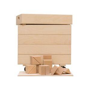 Van Dijk Toys Haagse blokkenset 7,5cm in 5 kisten