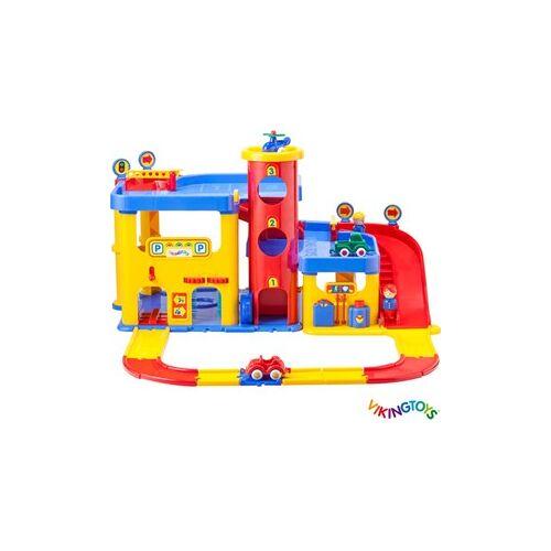Viking Toys - Viking City garage met 2 verdiepingen