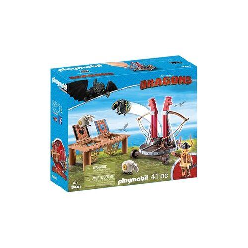 Playmobil Dragons - Schapen schieten met Schrokàl 9461