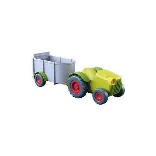 HABA Little Friends - Trekker met aanhangwagen