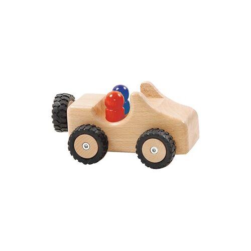 Ostheimer Jeep met rubberen banden