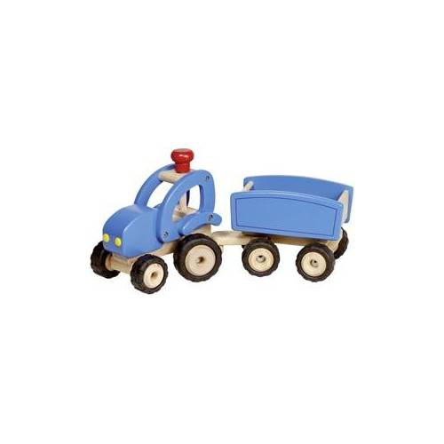 Goki Tractor with trailer 4