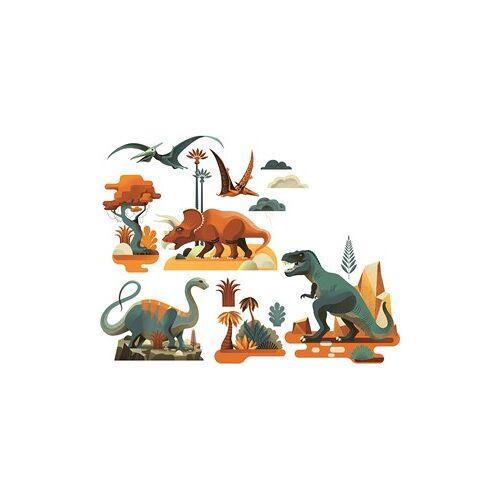 Djeco raamstickers Dinosaurussen