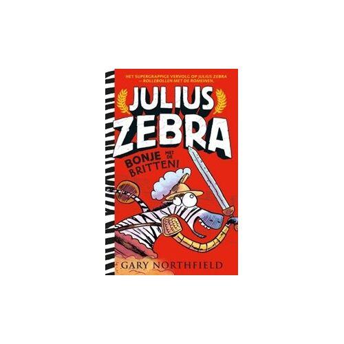 Kinderboeken Luitingh Sijthoff Kinderboekenweek - Julius Zebra 2: Bonje met de Britten. 7+