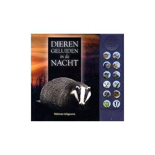 Veltman Kinderboek Dierengeluiden in de nacht (geluid). 6+