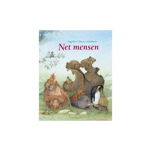Lemniscaat prentenboek Net mensen. 4+