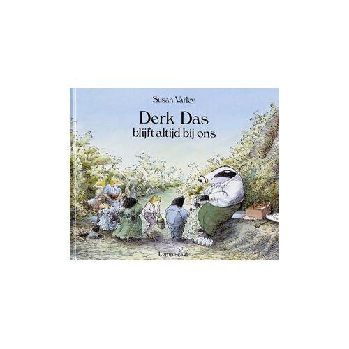 Lemniscaat Derk Das blijft altijd bij ons. prentenb