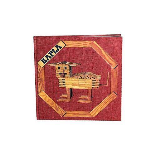 Kapla  houten bouwplankjes boek rood vol. 1