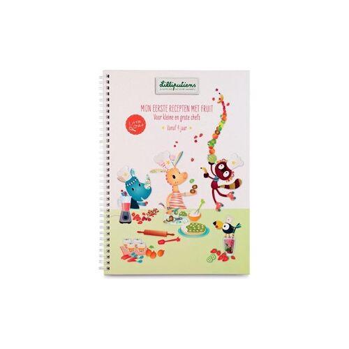 """Lilliputiens Receptenboek """" Mijn eerste recepten met fruit"""""""