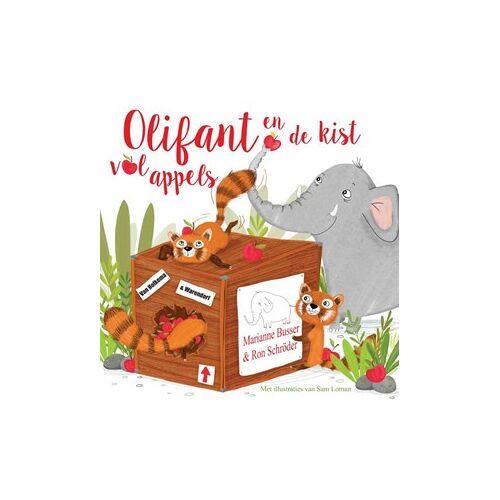 Unieboek Olifant en de kist vol appels. 4+