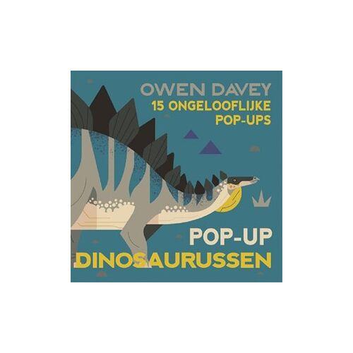 Fontaine Uitgevers Pop-up dinosaurussen. 5+