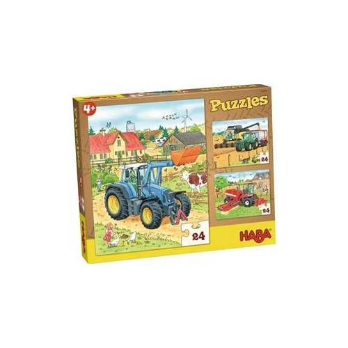 HABA Puzzels Tractor & co.
