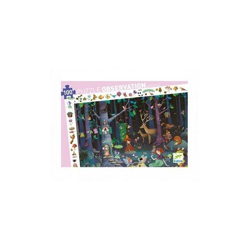 Djeco Puzzel Het Betoverde Bos (100 stukjes)