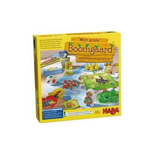 HABA Mijn grote Boomgaard-spelletjesverzameling