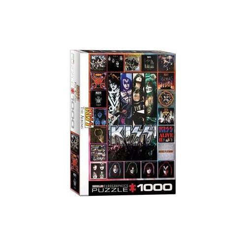 Eurographics puzzel KISS The Albums - 1000 stukjes