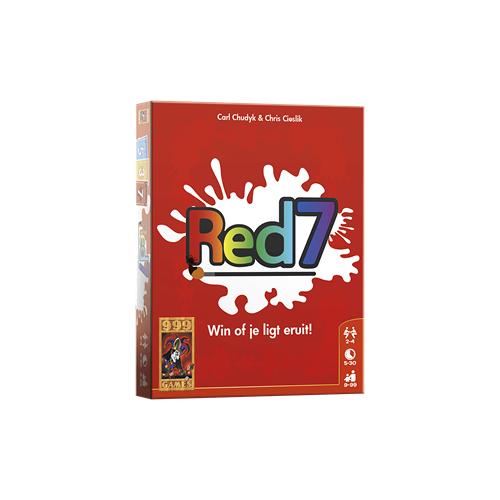 999 Games Red 7 - Kaartspel - 9+