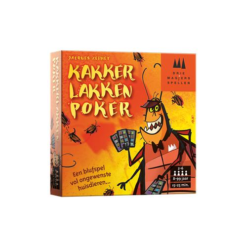 999 Games Drie Magiers Spellen Kakkerlakkenpoker - Kaartspel - 8+