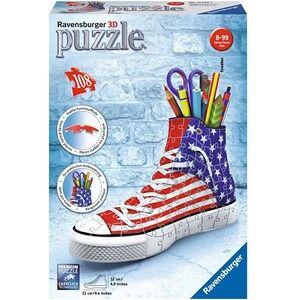 Ravensburger 3D Puzzel Sneaker American print