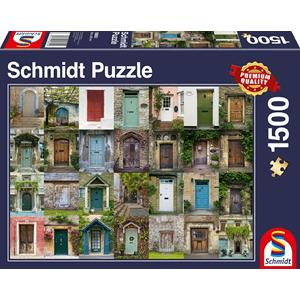 Schmidt Deuren, 1500 stukjes - Puzzel - 12+