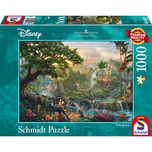 Schmidt Disney The Jungle book, 1000 stukjes - Puzzel - 12+