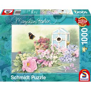 Schmidt Zomerhuis, 1000 stukjes - Puzzel - 12+