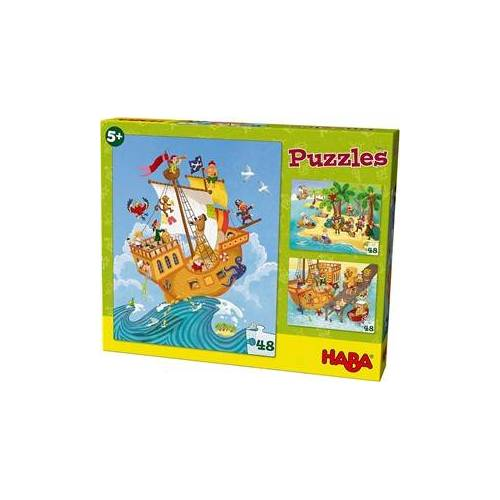 HABA Puzzels Piraat & co