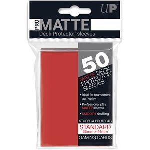 Ultra Pro Sleeves Pro-Matte - Standaard Rood (66x91 mm)