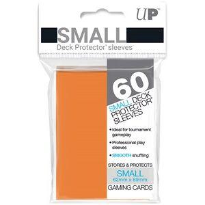 Ultra Pro Sleeves - Small Oranje (62x89 mm)