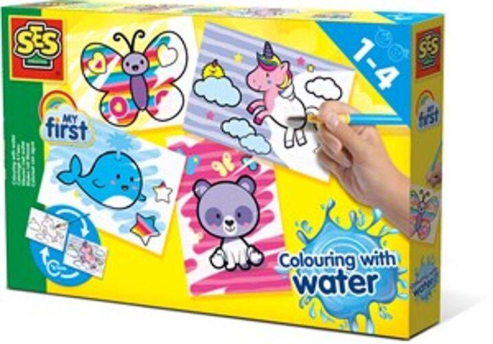 Creative SES - Kleuren met water...
