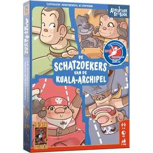 999 Games Adventure By Book - De Schatzoekers van de Kuala-archipel