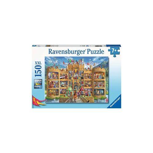 Ravensburger Kijkje in het Ridderkasteel Puzzel (150 XXL stukjes)
