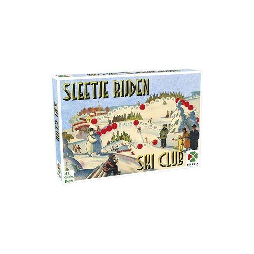 Selecta Spellen Spellen van Toen - Sleetje Rijden / Ski Club