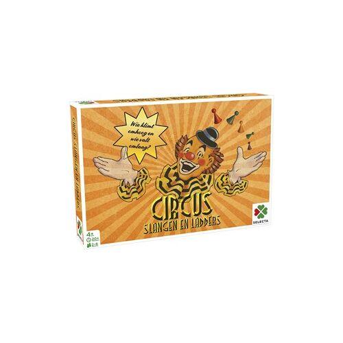Selecta Spellen Spellen van Toen - Circus / Slangen en Ladders
