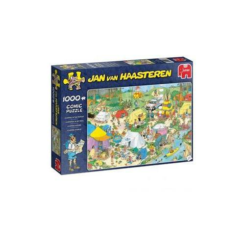 Jumbo Jan van Haasteren - Kamperen in het Bos Puzzel (1000 stukjes)
