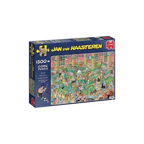 Jumbo Jan van Haasteren - Krijt op Tijd Puzzel (1500 stukjes)