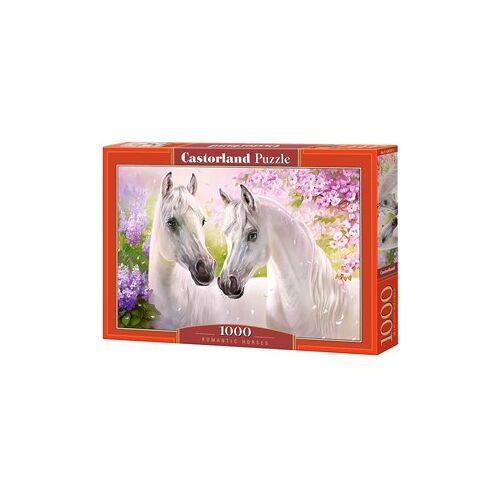 Castorland Romantic Horses Puzzel (1000 stukjes)