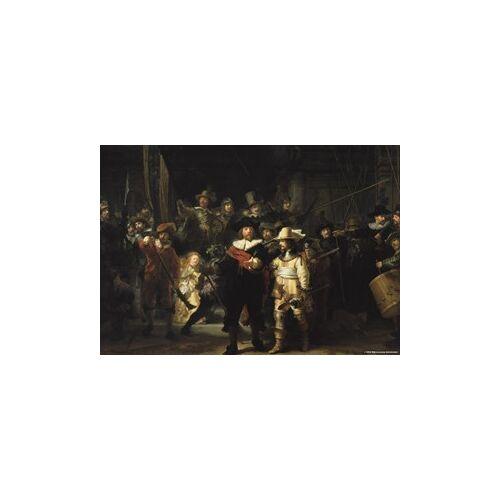 Puzzelman De Nachtwacht - Rembrandt van Rijn Puzzel (1000 stukjes)