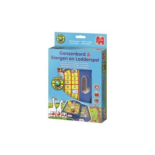 Jumbo Ganzenbord / Slangen & Ladderspel Reisspel
