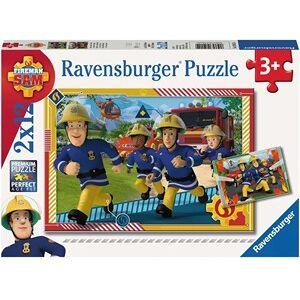 Ravensburger Sam en zijn Team Puzzel (2x12 stukjes)