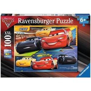 Ravensburger Disney Cars 3 XXL Puzzel - Duel der Kampioenen (100 stukjes)