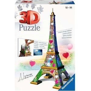 Ravensburger 3D Puzzel - Eiffeltoren Love Edition (216 stukjes)
