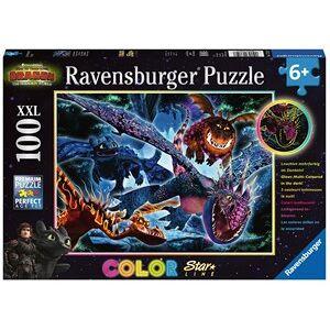 Ravensburger Dragons 3 Color Starline Puzzel (100 XXL)