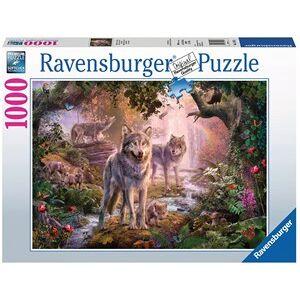 Ravensburger Wolvenfamilie In De Zomer Puzzel (1000 stukjes)