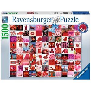 Ravensburger 99 Beautiful Red Things Puzzel (1500 stukjes)