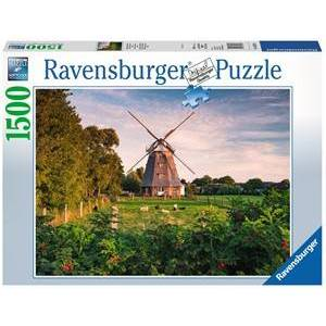 Ravensburger Windmolen aan de Oostzee Puzzel (1500 stukjes)