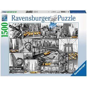 Ravensburger Kleuraccenten In New York Puzzel (1500 stukjes)
